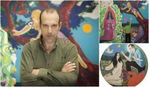 """EXPOSICIÓN: """"Habrá un lugar con nuevos colores"""", de Alejandro Ortiz @ Dédalo arte y artesanía"""