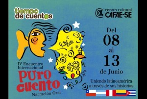 "EVENTO: ""Puro Cuento"" 2015 @ Centro Cultural CAFAE-SE    San Isidro   Perú"