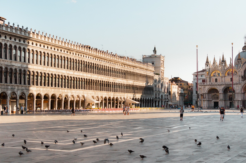 Piazza San Marco. © Mare and Sara Photography.