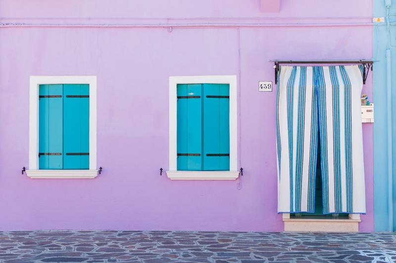 Isla de Burano. © Mare and Sara Photography.